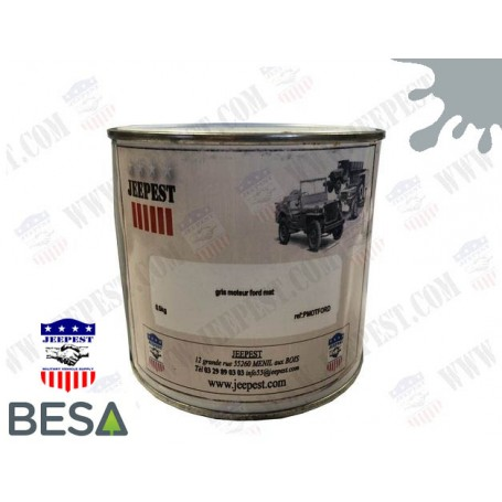 PAINT BLUE/GREY FORD ENGINE (0.5KGS)