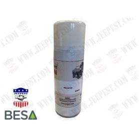 PEINTURE BOMBE AEROSOL BLANC MAT