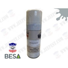 PEINTURE BOMBE AEROSOL GRIS/BLEU MOTEUR FORD