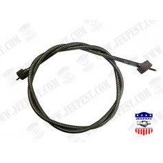 CABLE SPEEDOMETER COMPLET JEEP MB COLLECTION