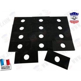 PADS RUBBER BODY/FRAME (SET OF 14)