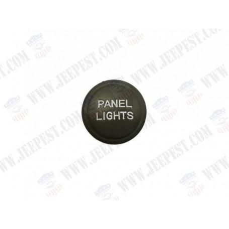 BOUTON PANEL LIGHTS METAL