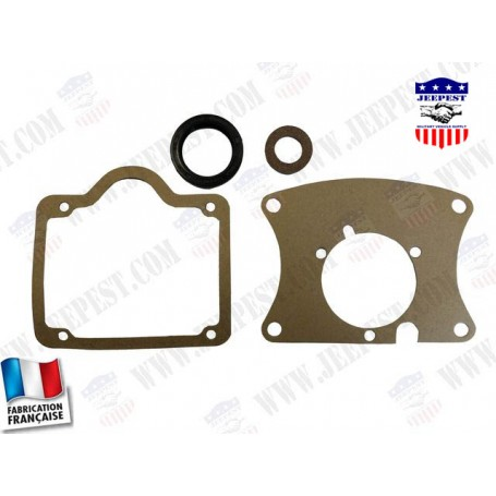 """GASKETS TRANSMISSION T84 (FULL SET WITH OIL SEAL)""""MADE IN FRANCE"""""""