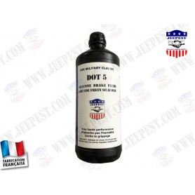 OIL BRAKE FLUID DOT5 SILICONE 1L NET