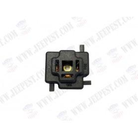 CONNECTOR 3 PLUGS FRONT HEADLIGHT JEEP