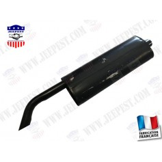 "MUFFLER ASSEMBLY JEEP ""MADE IN FRANCE"""