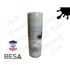 PAINT AEROSOL CAN BLACK MAT (0.4L) NET