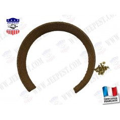 "GARNITURE COLLIER FREIN A MAIN JEEP ""MADE IN FRANCE"""