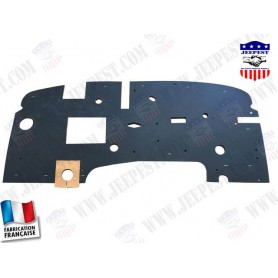 PAD FIREWALL UNDER DASH BOARD WC53-54