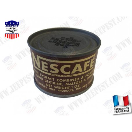 CAN OF NESCAFE WW2 REPRO