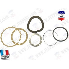 GASKETS SET FRONT AXLE BOWL BANJO