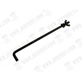 CLAMP ROD BATTERY HOLD DOWN 6 VOLTS NET