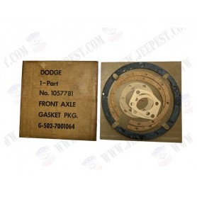 GASKETS FRONT AXLE EARLY DODGE (SET)