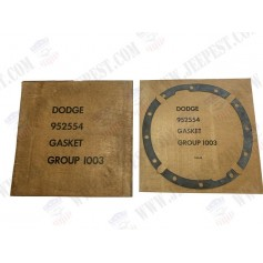 GASKET DRIVE PINION CARRIER EARLY DODGE