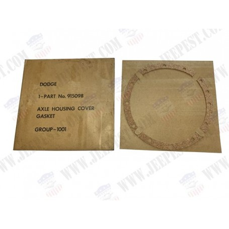 GASKET REAR AXLE EARLY COVER