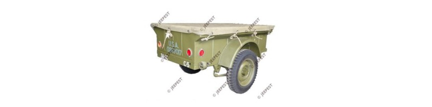 TRAILER 1/4 TON JEEP