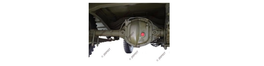 AXLE REAR MB|GPW|M201