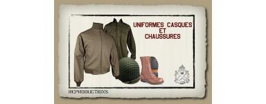 UNIFORMES-CASQUES-CHASSURES REPRODUCTION