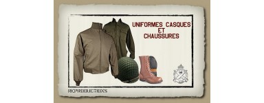 UNIFORMS-HELMETS-SHOES REPRODUCTION