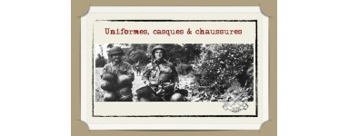 UNIFORMES-CASQUES-CHAUSSURES ORIGINE