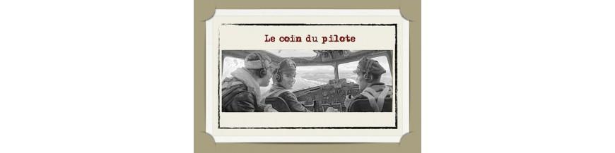 LE COIN DU PILOTE
