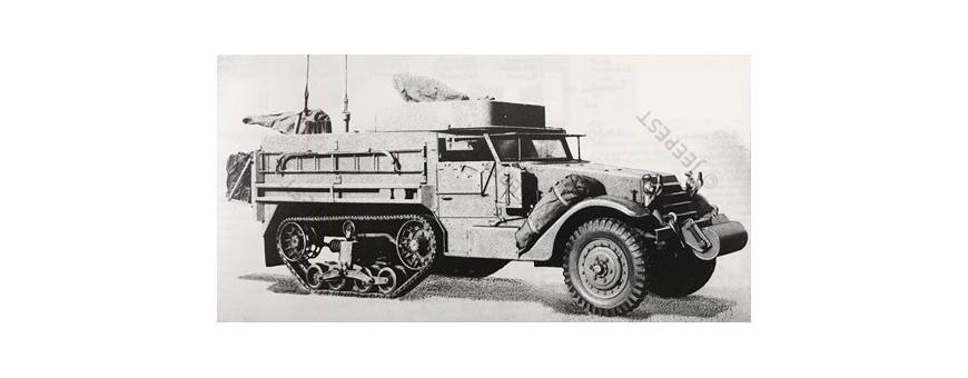 ARMORED M3 HALF TRACK