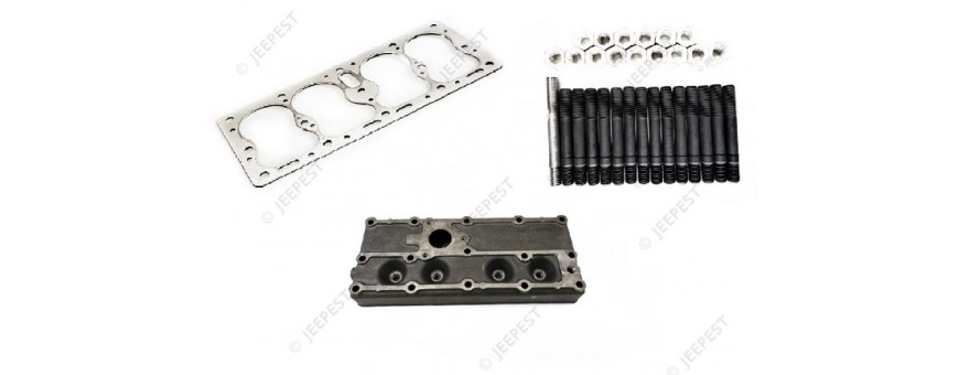 ENGINE HEAD AND TOP PART MB GPW M201