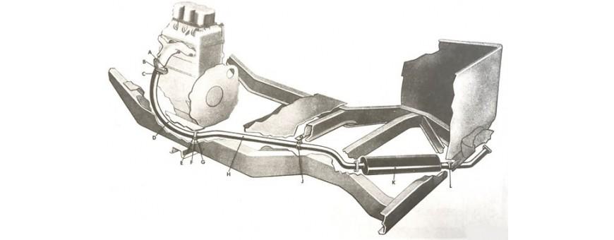 ECHAPPEMENT M38|M38A1|CJ