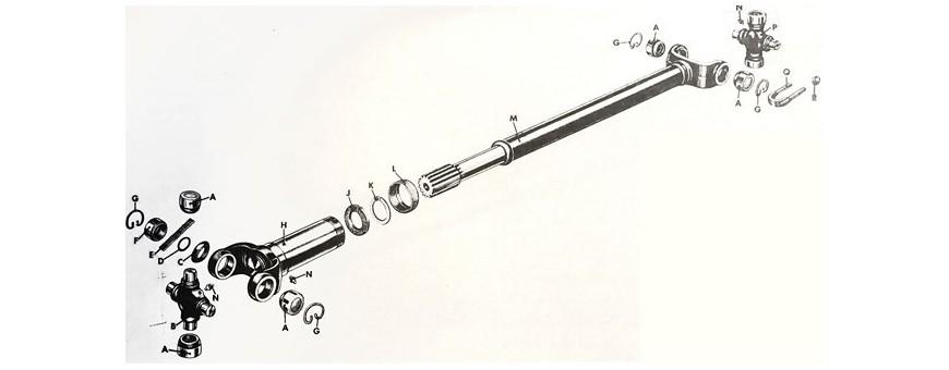 PROPELLER SHAFT M38|M38A1|CJ