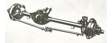 AXLE FRONT M38|M38A1|CJ