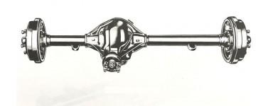 PONT ARRIERE M38|M38A1|CJ