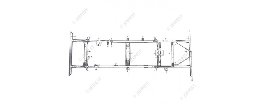 CHASSIS-PROTECTION M38|M38A1|CJ