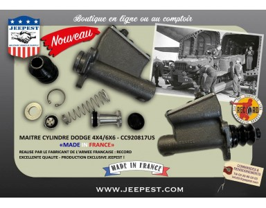 """NEW MASTER BRAKE CYLINDER FOR DODGE 4X4/6X6 """"MADE IN FRANCE"""""""